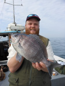 Black Bream 3lb, Duncan, 21st April 2014