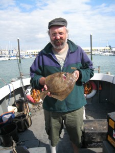 Skipper, Turbot 3lb, 19th Aug 2013