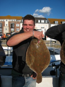 Plaice 4lb 8oz, 23rd August 2014