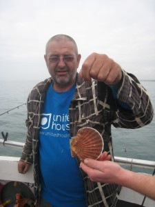 Lucky Trevor, Scallop, September 27th 2014.