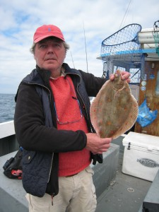 Plaice 2lb, May 2015