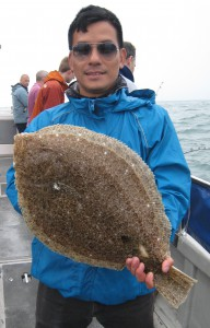 Brill 4lb 5oz, Wallus, June 2016