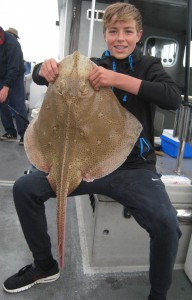 Blonde Ray, 15lb, 27th July 2016