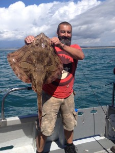 Undulate Ray, 12lb 4oz, August 2017